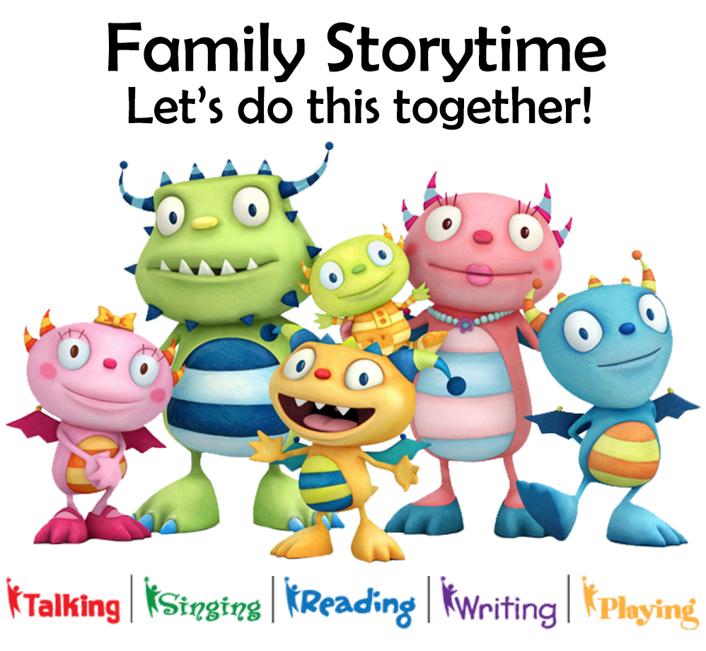 Family Storytime ~ Let's do this together!